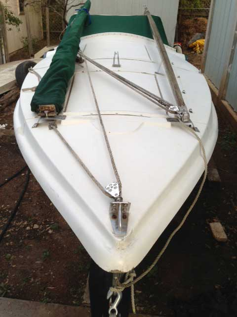 phil bolger dovekie  1983  austin   lake travis  texas  sailboat for sale from sailing texas
