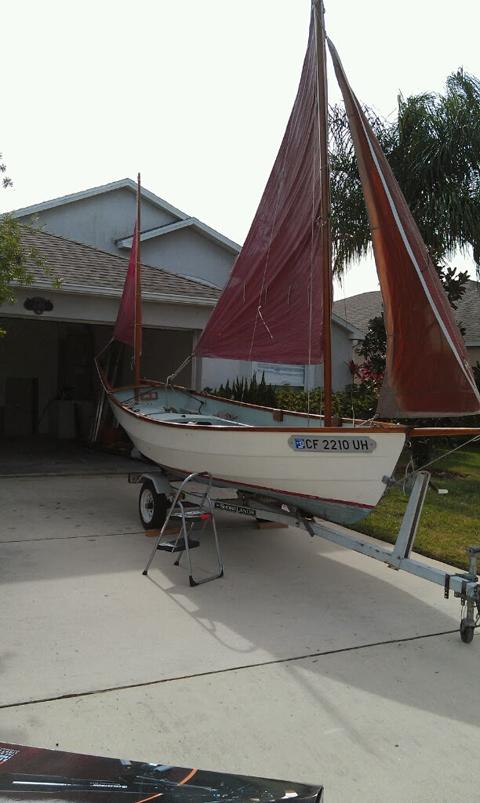 Drascombe Dabber, 1972 sailboat