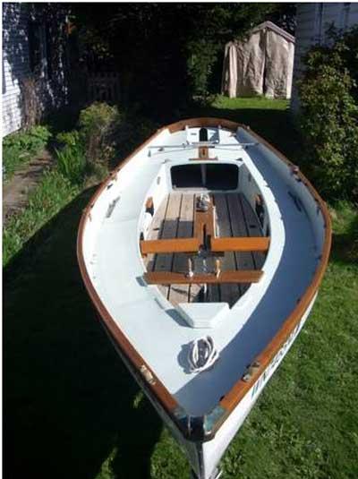 Drascombe Longboat Sally, 1978 sailboat