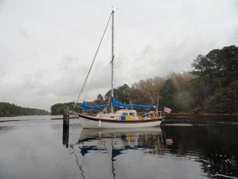 Custom Eastward Ho cutter, 24 ft., 1975 sailboat
