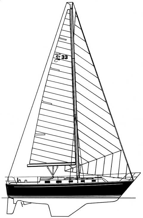 Endeavour 33ft, 1984 sailboat