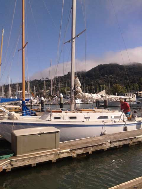 Ericson 32', 1974 sailboat