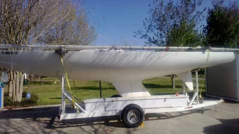 Etchells Class Keel Boat, 30 ft., 1977 sailboat