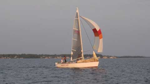 Evelyn 26, 1980 sailboat