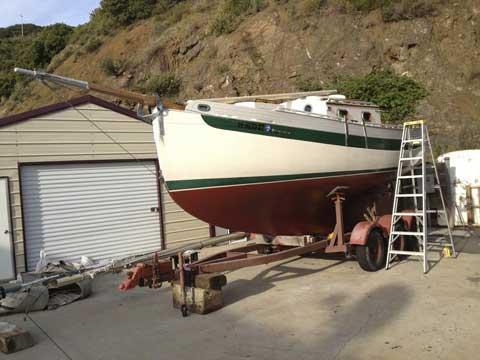 Falmouth Cutter 22, 1979 sailboat