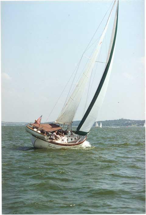 Flying Dutchman Baba 35, 1980, Watergate marina, Kemah, Texas sailboat