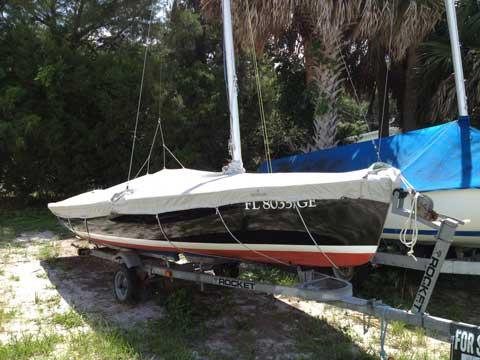 Flying Scot, 1976, Lake Eustis Sailing Club, Eustis, Florida