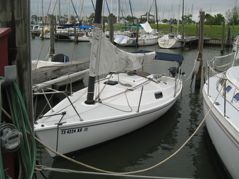 Freedom 21, 1984 sailboat