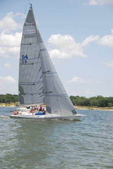 G force yachts X-treme 25, Grapevine, Texas sailboat