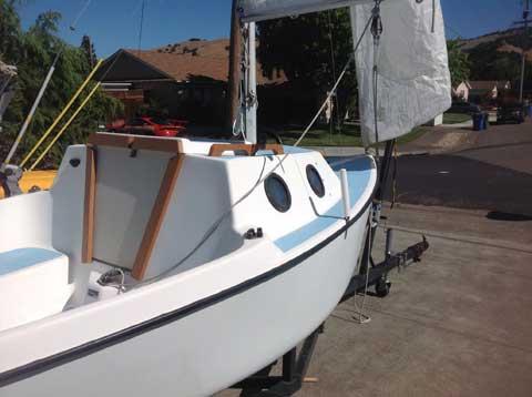 Guppy 13, 1974, San Francisco, California sailboat