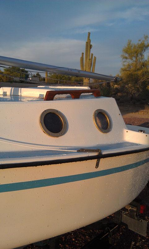 Guppy pocket mini cruiser, 1976, Tucson, Arizona sailboat