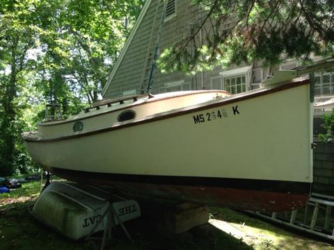 Herreshoff America Catboat, 18 ft., 1973 sailboat