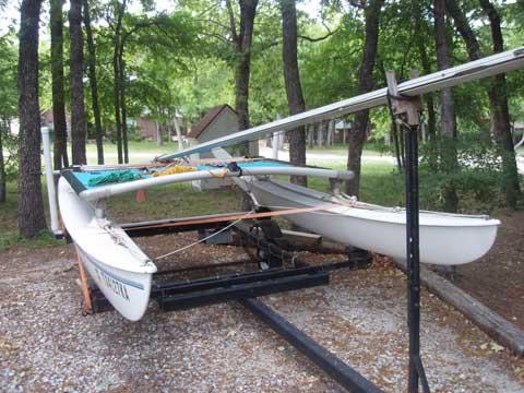 Hobie 14, 1976, Fort Worth, Texas sailboat