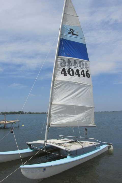 Hobie Cat 14 ft., 1982, Lake Brant, Chester, South Dakota sailboat