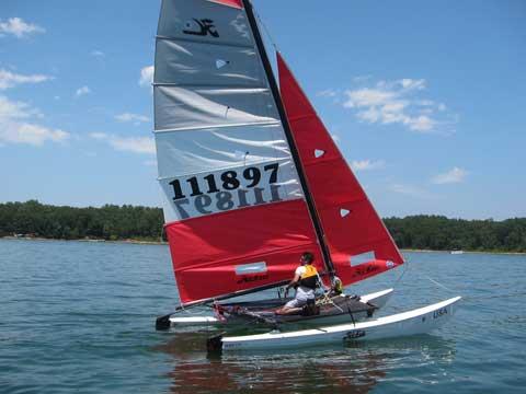 Hobie cat 16, 2010 sailboat