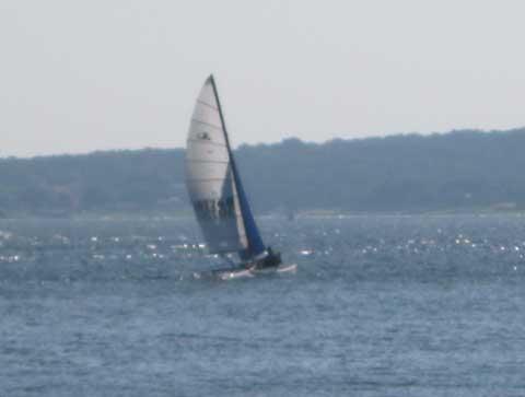 Hobiecat 16' catamaran, 1980 sailboat