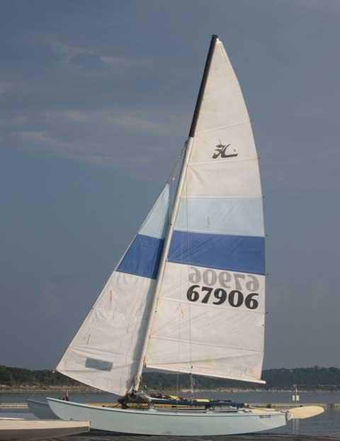 Hobie 16 Catamaran, 1981 sailboat