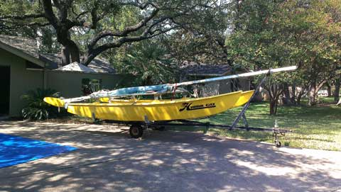 Hobie Cat 16, 1979 sailboat