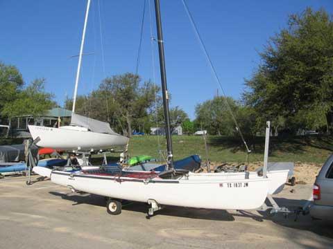 Hobie 18 SX, 1983, Lake Travis, Texas sailboat