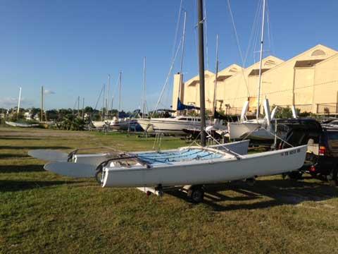 Hobie 18, 1980 sailboat
