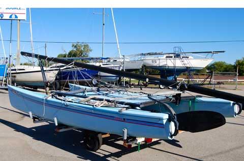 Hobie Cat 18, 1985 sailboat