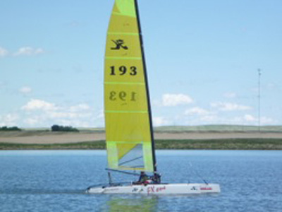 Hobie Cat Europe FX One, 2002 sailboat