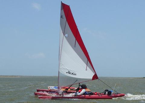 Hobie Mirage Tandem Island Kayak, 2011 sailboat