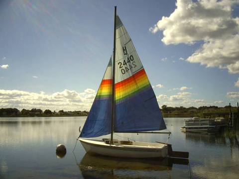 Hobie Holder 14, 1984 sailboat