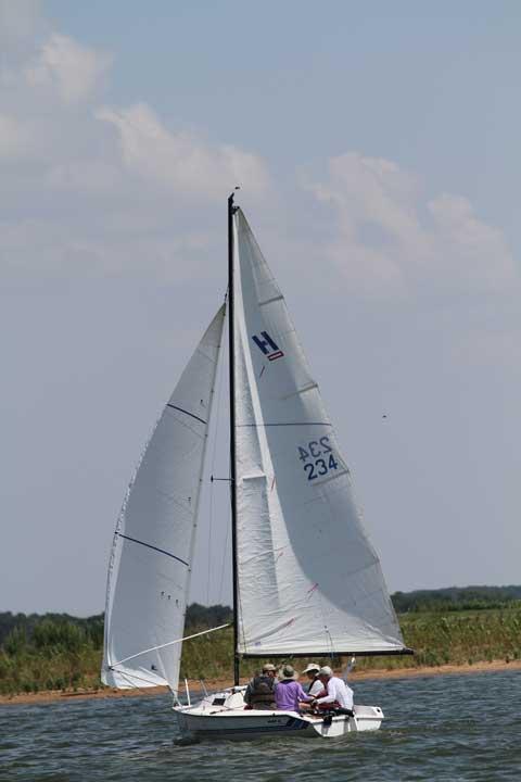 Holder 20, 1985, Lake Nocona, Texas sailboat