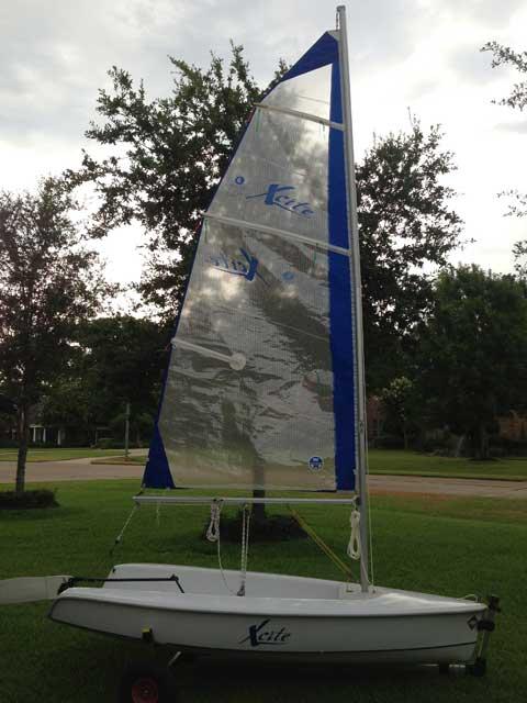 Hunter Xcite, 10ft., 2003 sailboat