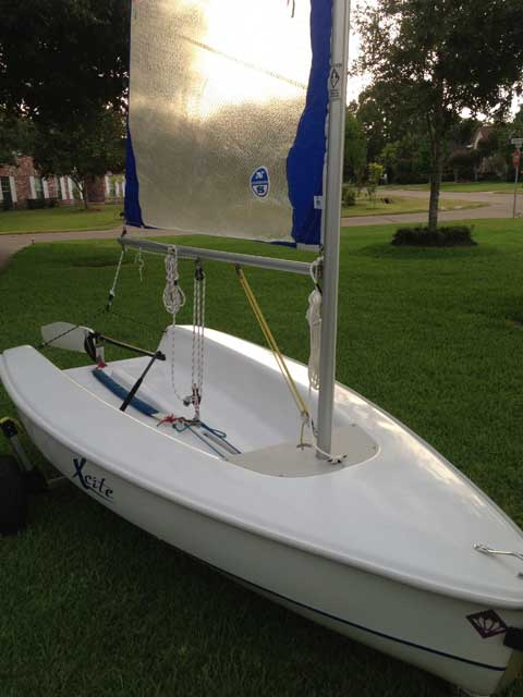 Hunter Xcite, 10ft., 2003 sailboat
