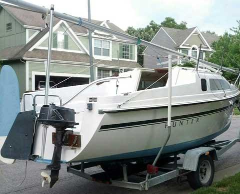 Hunter 19, 1994 sailboat