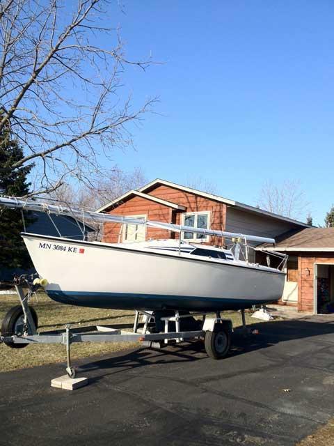 Hunter 23, 1986, Minneapolis, Minnesota sailboat