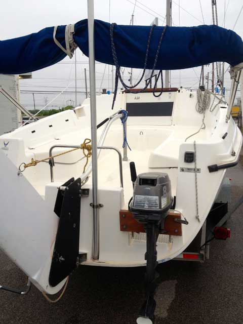 Hunter Sailboats For Sale >> Hunter 23.5, 1996, Lewisville, Texas, sailboat for sale ...