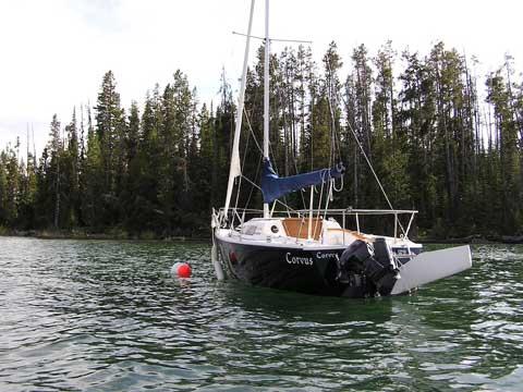 Hunter 23.5, 1990, Alta, Wyoming sailboat
