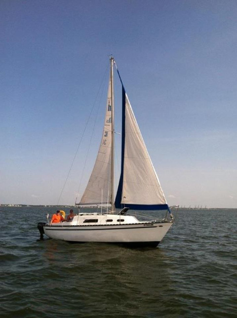Hunter 25, 1979 sailboat