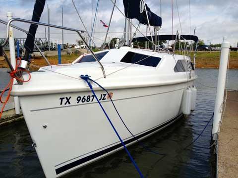 Hunter 260, 2005, Grapevine Lake, Texas sailboat
