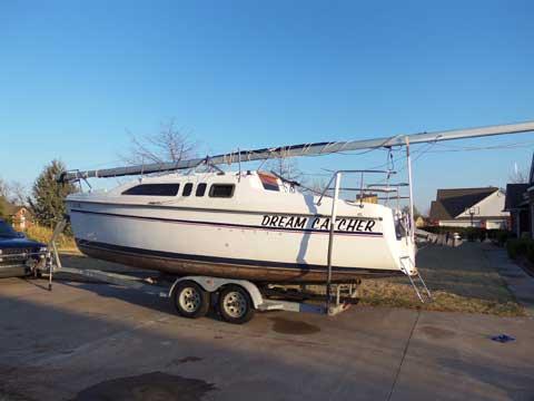 Hunter 26, 1994, Newalla, Oklahoma sailboat