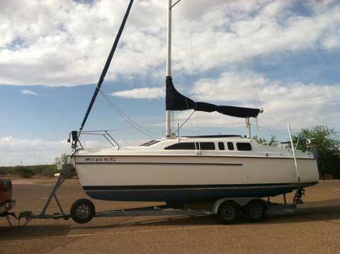 Hunter 26, 1995, Lubbock, Texas sailboat