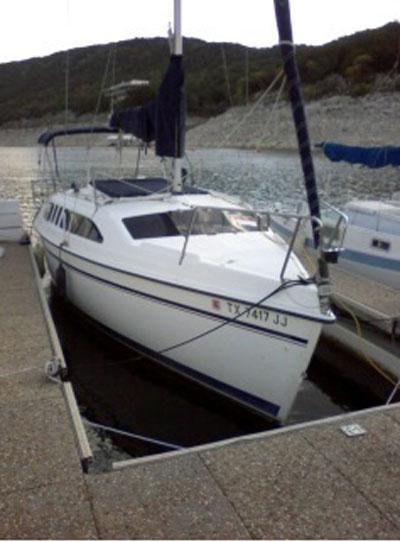 Hunter 26, 1995 sailboat