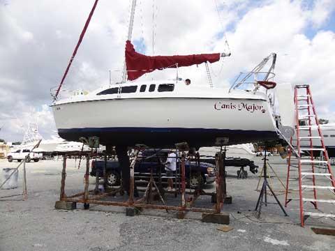 Hunter 26', 1996 sailboat