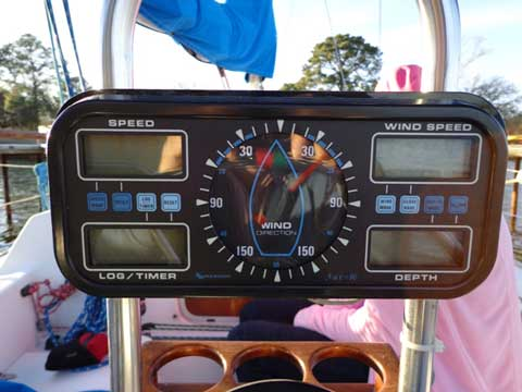 Hunter 28.5, 1985, Cedar Creek Reservoir, Tool, Texas sailboat