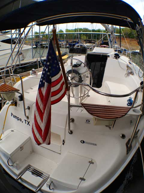 Hunter 326, 2002, Grapevine Lake, Texas sailboat