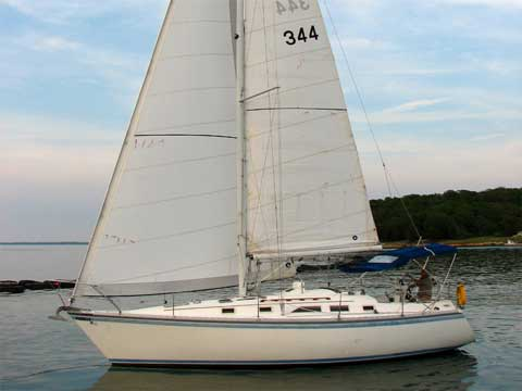 Hunter 34 1984 Rockwall Texas Sailboat For Sale From