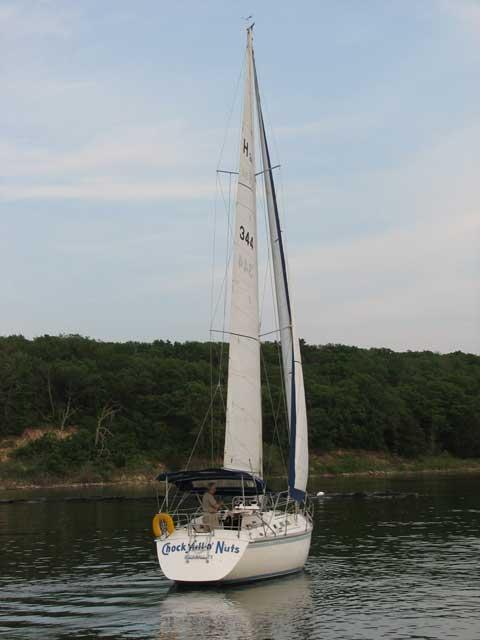 Hunter 34, 1984, Rockwall, Texas sailboat