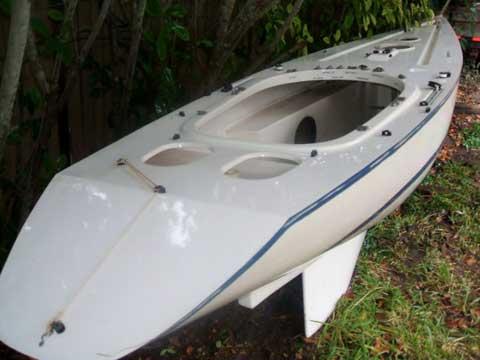 Pair of Illusion Mini 12, 1983 sailboat