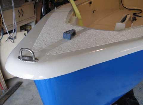 Iota 12, Catboat, (Frostbiter), 1989 sailboat
