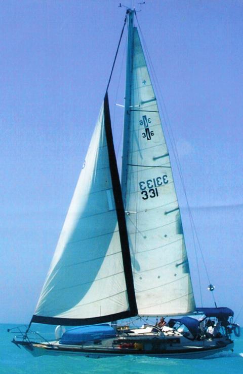 Islander 36, 1972 sailboat