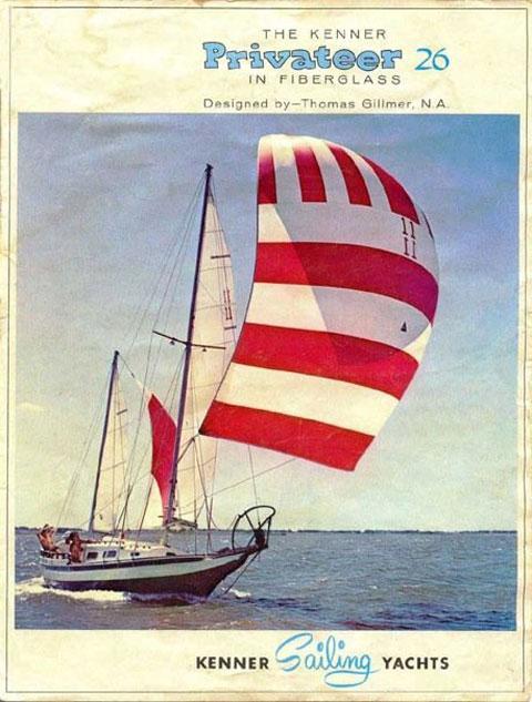 Kenner Privateer, 1968, Lake Ouachita, Arkansas sailboat