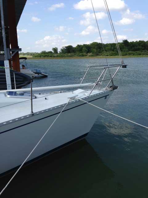 Kirie 37 Elite, 1984, Lake Lewisville, Texas sailboat
